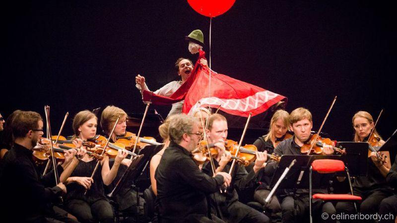 Le Sion Festival a multiplié les créations dont celle de Gidon Kremer «Con amore» avec la participation de deux clowns.