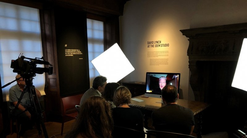 David Lynch expose à Sion sa fascination pour Fellini