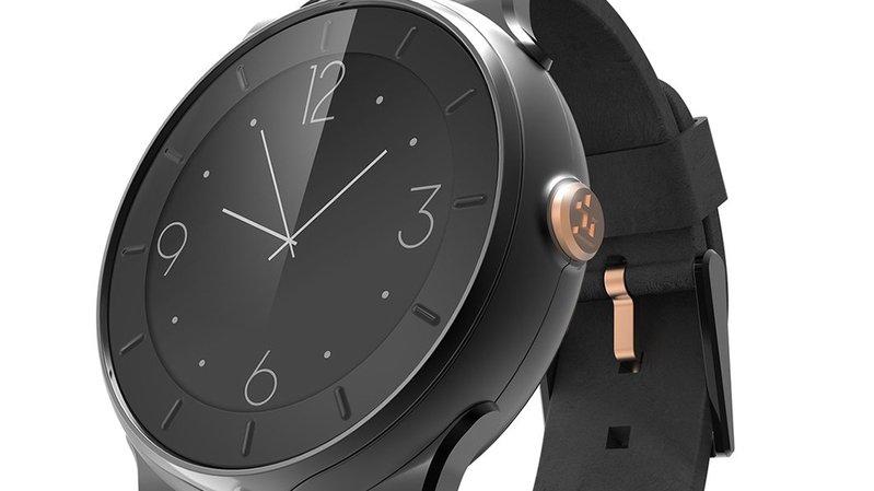 La montre «Life Plus» développée par l'IATLab et la HES-SO Valais-Wallis.
