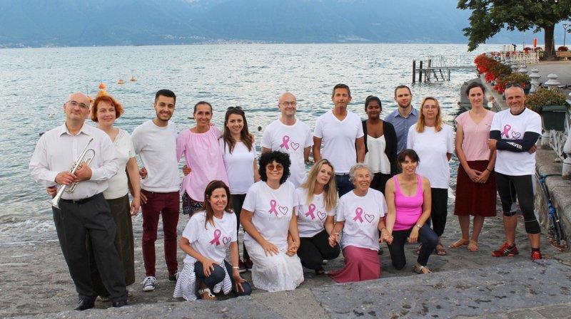 L'association l'aiMant Rose va faire nager une centaine de personnes dans le cadre de son action contre le cancer.