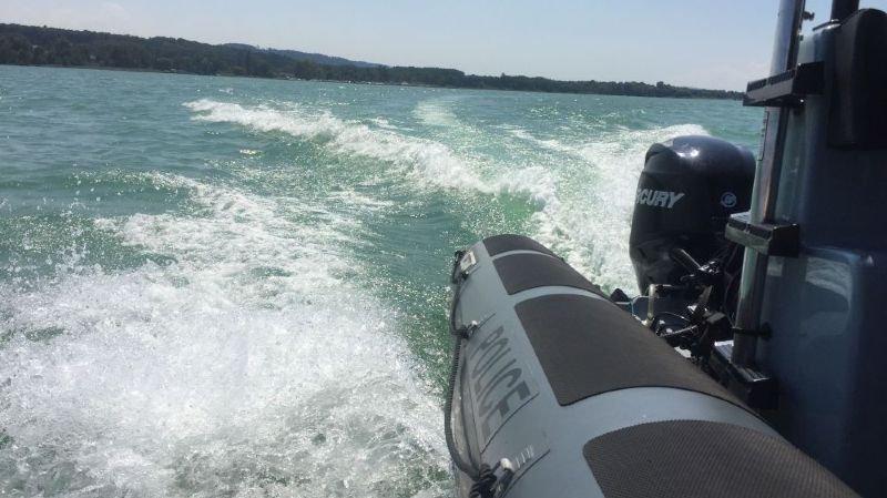 Naufrage sur le lac de Neuchâtel: quatre rescapés dont un blessé