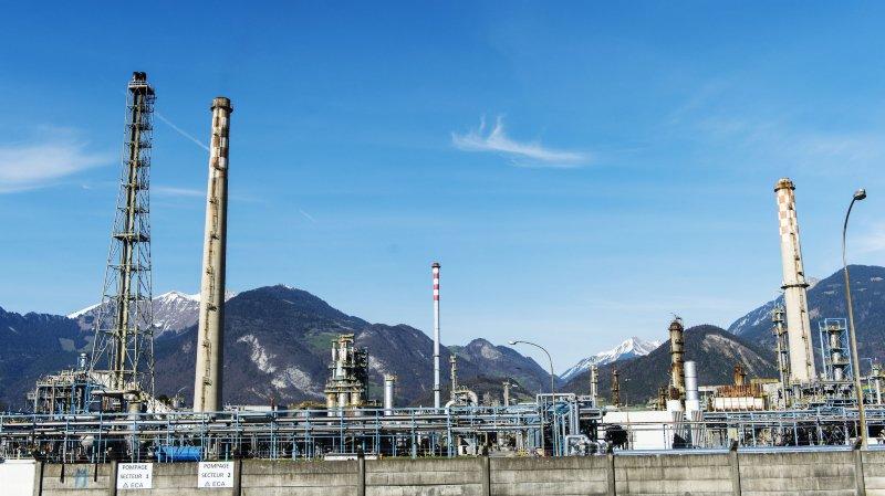 La raffinerie de Collombey-le-Grand est arrêtée depuis avril 2015.