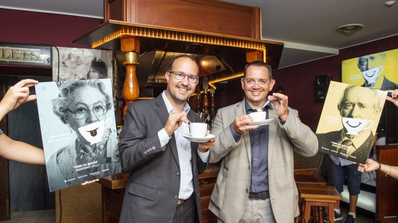 Comme le démontrent, tea time oblige, David Genolet et Vincent Claivaz, la 59e Foire du Valais conviera ses visiteurs à se mettre à l'heure britannique.
