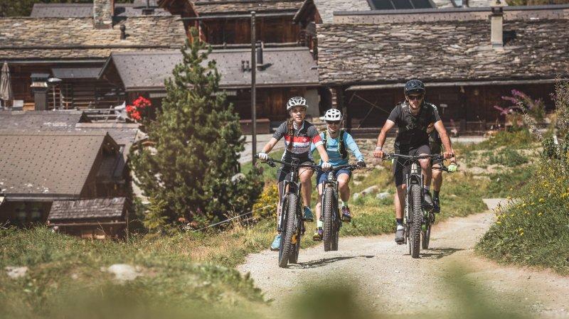Bagnes mise sur le vélo électrique pour développer son tourisme estival