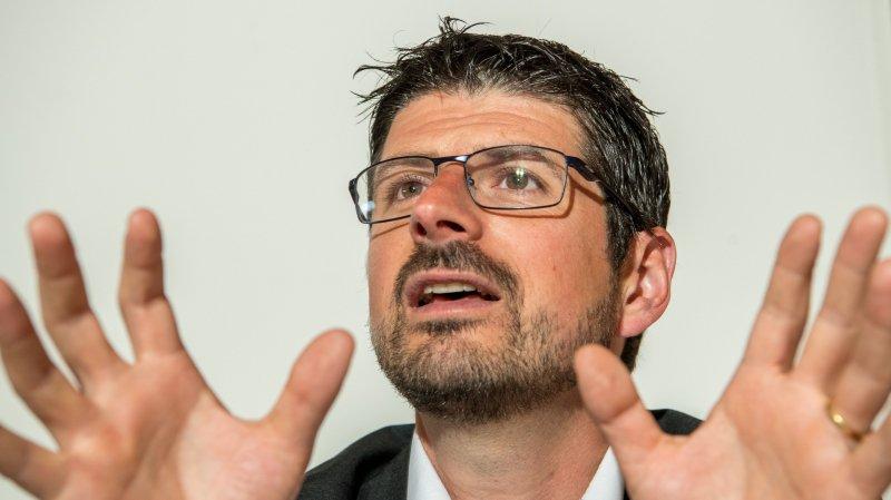 Collombey-Muraz: Yannick Buttet accepte son sort