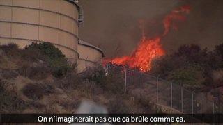 Incendie en Californie: 20'000 personnes doivent fuir