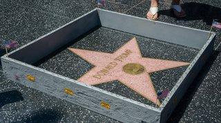 Hollywood demande le retrait de l'étoile de Trump du Walk of Fame