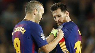 Espagne: Messi succède à Iniesta comme capitaine de Barcelone