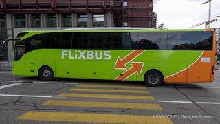 Transports: l'Allemand Flixbus vise 1,7 million de passagers en Suisse pour l'exercice 2018