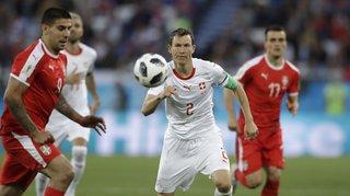 Football - Equipe de Suisse: Lichtsteiner n'imagine pas prendre sa retraite internationale