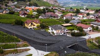 Lave torrentielle à Chamoson: plus d'un demi-million de francs de dégâts