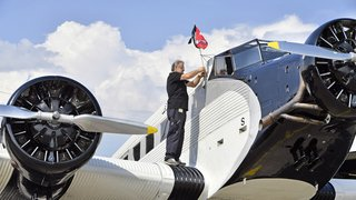 """Crash de """"Tante Ju"""" dans les Grisons: la compagnie Ju-Air a repris ses vols"""