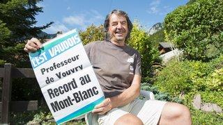 Vouvry: il y a trente ans, il battait le record de l'ascension du mont Blanc