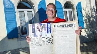 En difficulté, l'hebdomadaire valaisan «Le Confédéré» se restructure