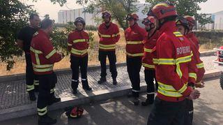 Des pompiers de Fully et des 2 Rives prêtent main-forte à leurs collègues portugais
