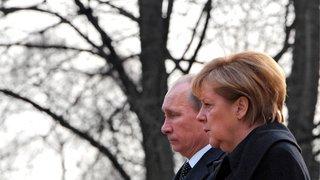 Merkel et Poutine pour renouer le dialogue