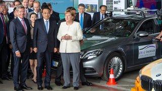 Voitures autonomes, Pékin met les gaz