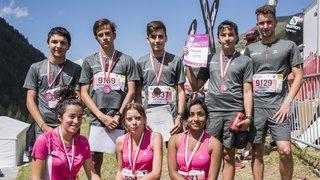 Sierre-Zinal: ils courent 19 kilomètres et signent un contrat d'aprentissage