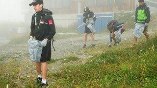 Cleaning Day: 5'000 litres de déchets ramassés sur les pistes