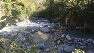 Val d'Hérens: garde partagée des sources chaudes de Combioula