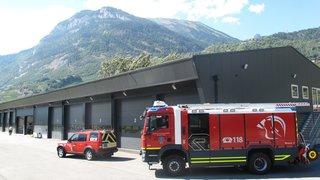 Leytron: les pompiers des Deux Rives réunis sous un même toit