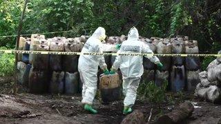 Cinquante tonnes de méthamphétamine détruites au Mexique