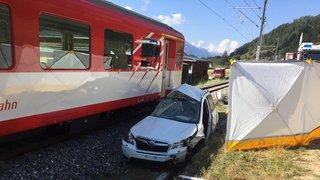 Heurté par un train, un automobiliste valaisan décède