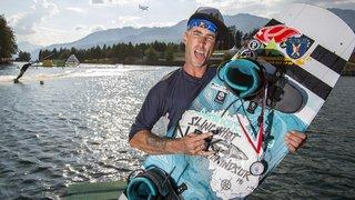 Gaël Perrin espère surfer sur la vague du succès