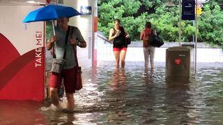Valais: un orage d'une rare violence balaie le canton et déverse près de 50 mm d'eau sur Sion