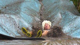 Orsières: courir dans la boue à la Meuh Day