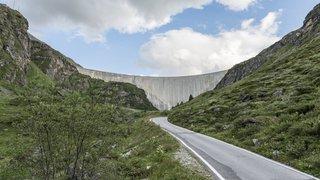 Route rouverte entre Grimentz et le barrage de Moiry