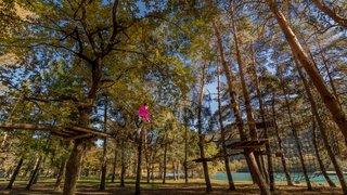 Sion: le Parc Aventure propose des frissons en toute sécurité