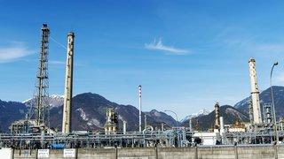 Raffinerie de Collombey: les coûts d'assainissement n'auront pas d'incidence sur la commune