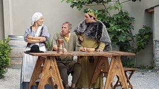 Vivre un délire médiéval avec la Bayardine de Saillon