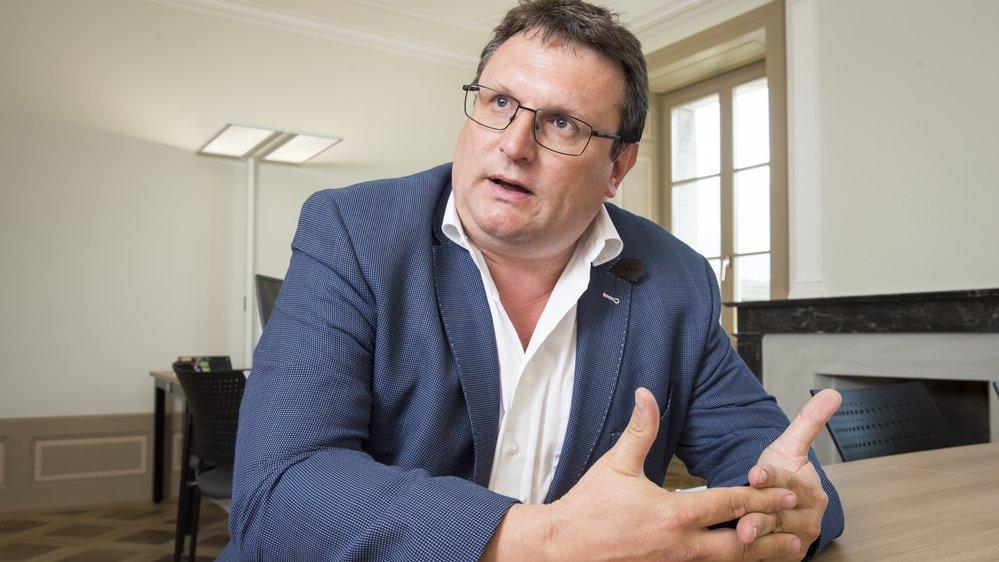 Jean-Philippe Lonfat, chef du Service de l'enseignement: «L'école valaisanne ne connaissait pas de souci avec ces prises en charge avant cet arrêt qui soulève de nombreuses problématiques.»