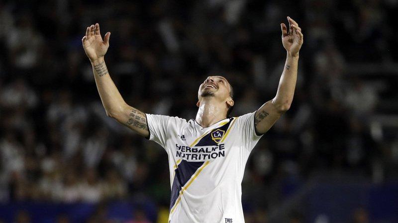 Football - MLS: Ibrahimovic inscrit le 500e but de sa carrière avec le style