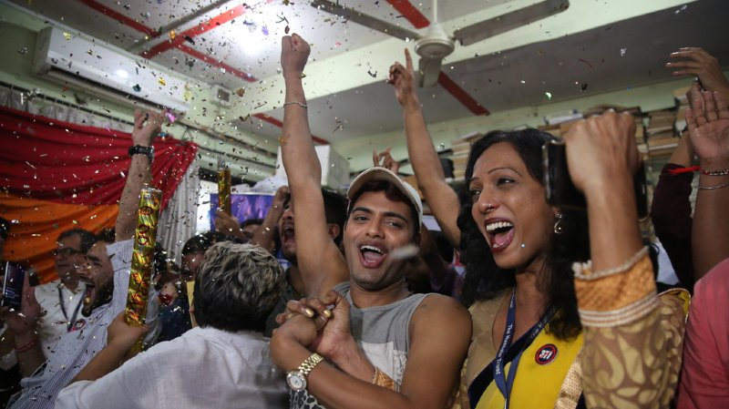 Inde: la Cour suprême prend la décision historique de dépénaliser l'homosexualité