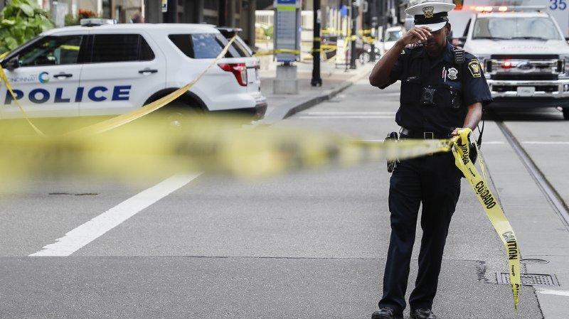 Une fusillade dans une banque de Cincinnati entraîne la mort de quatre personnes.