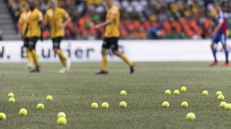 Super League: les fans bernois manifestent contre l'eSports