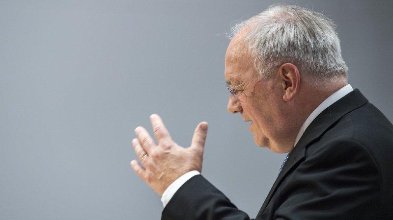 Conseil fédéral: la sphère politique réagit à la démission de Johann Schneider-Ammann