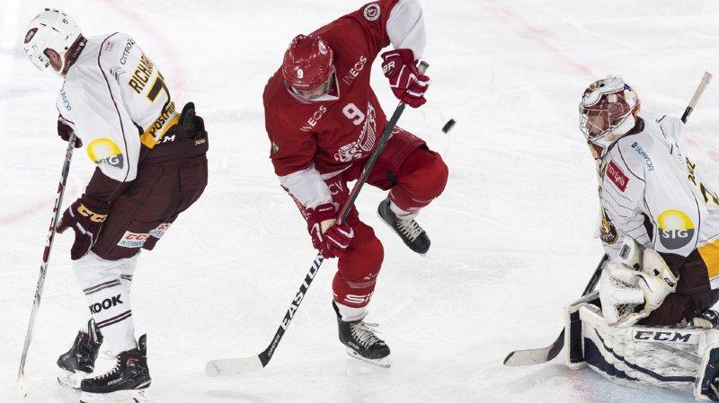 Hockey - National League: Lausanne se défait de Genève, Fribourg perd face à Zoug
