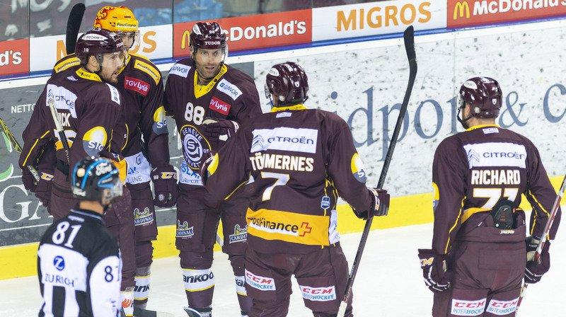 Hockey - National League: Servette bat les Lions, Bienne s'incline face à Fribourg et Lausanne perd à Lugano