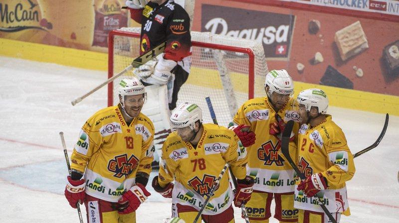 Hockey – National League: Bienne s'impose 5-2 face au CP Berne et prend la tête du championnat