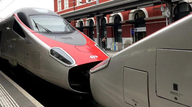 CFF: des trains Astoro retirés à cause d'une anomalie, le trafic en direction de Milan sera tendu