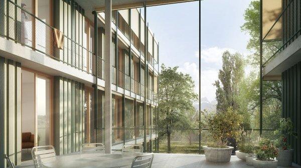 Le projet zurichois a notamment séduit pour l'importance donné au parc de la Castalie.