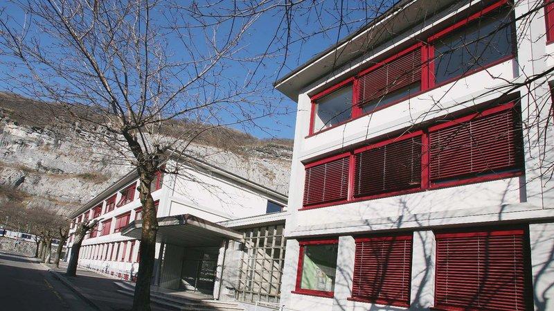 Saint-Maurice: le canton envisage des travaux au collège afin de renforcer son attractivité