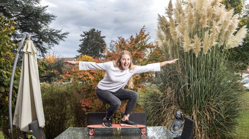 Dyslexie: la championne de skicross Fanny Smith témoigne