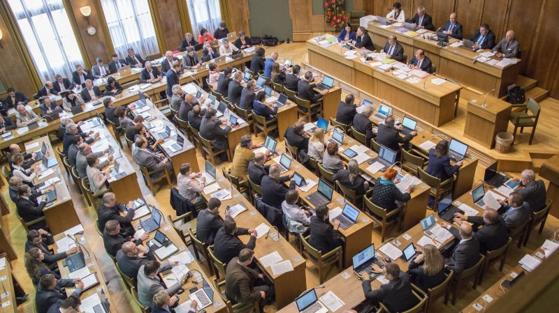 Le Grand Conseil ne débattra pas cette semaine sur la question de l'instauration d'une Commission d'enquête parlementaire dans le cadre de l'affaire Rossier.