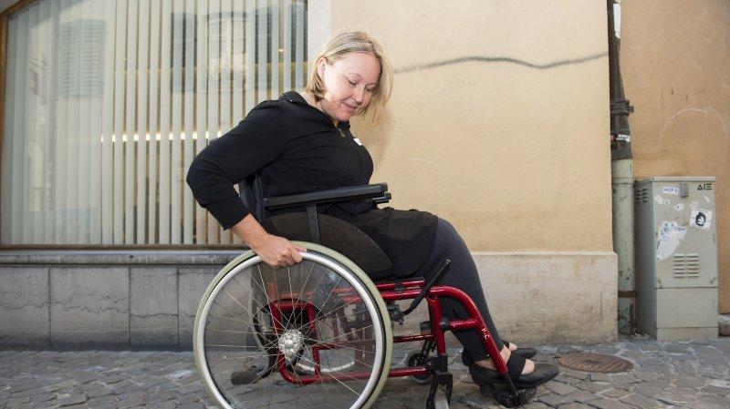 Valais: des représentants communaux dans la peau de personnes handicapées