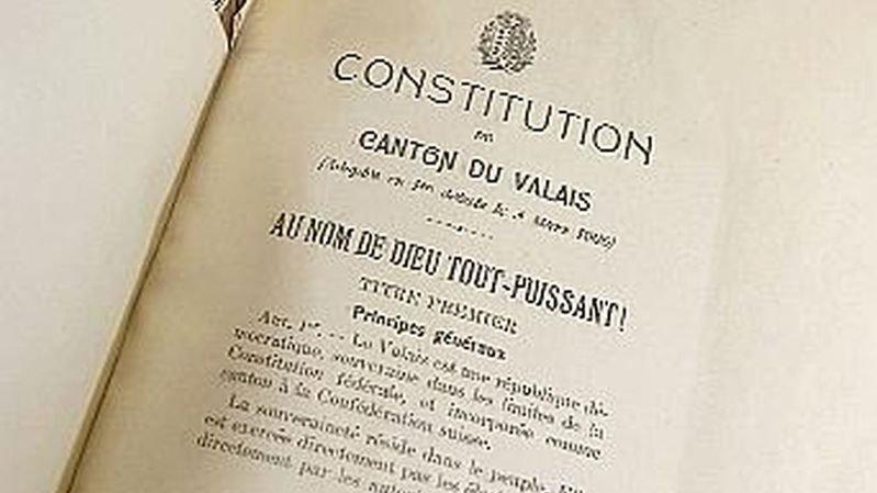 Valais: l'élection à la constituante sera hors normes, avec 645 candidats